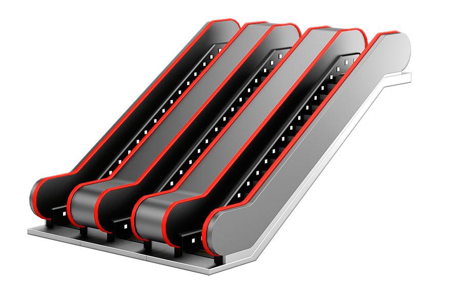 BLT escaleras electricas