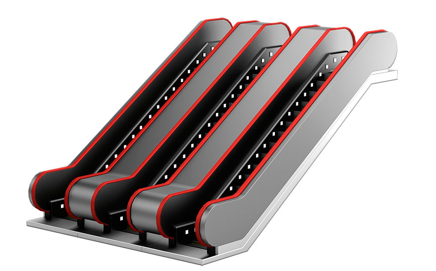 Diseño de escaleras electricas