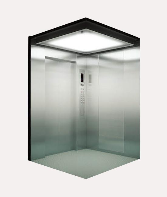 Ascensor con Sala de Maquinas Modelo k018
