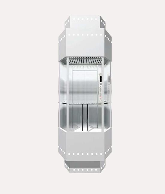 Ascensores panoramicos Modelo G011