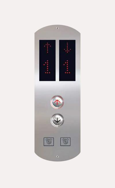 Botoneras para ascensores en Mexico Modelo HBPG100