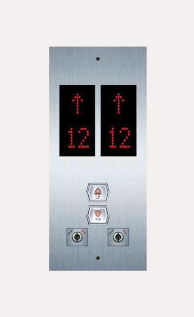 Botones para elevadores Mexico Modelo HBPG306