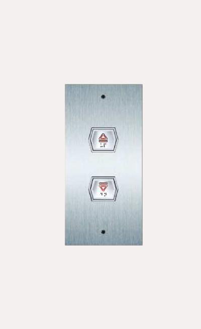 Instalacion de botones para elevadores Modelo HB306
