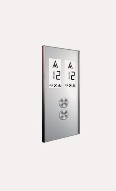 Prototipo de botoneras para ascensores Modelo A139AB