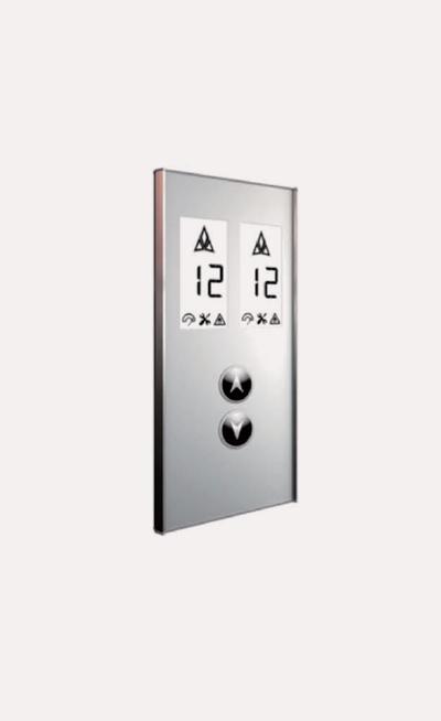 Prototipos de botoneras para elevadores Modelo H138AB