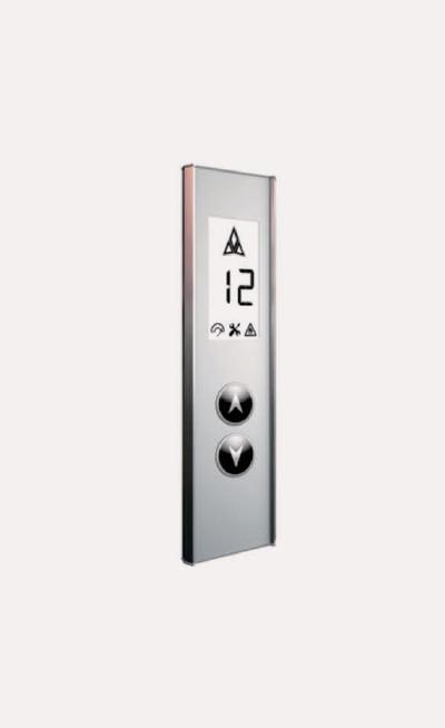 Prototipos de botones para elevadores Modelo A138A